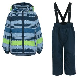 Комплект куртка/брюки  Kaiho, цвет: синий Lassie