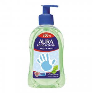 Жидкое мыло AURA Деликатное с подорожником, 300 мл