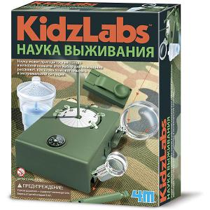 Набор для опытов  KidzLabs Наука выживания 4M