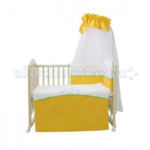 Комплект в кроватку  Волшебная полянка (7 предметов) Fairy