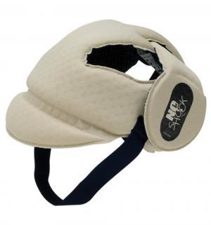 Защитный шлем  No Shock, цвет: бежевый Okbaby