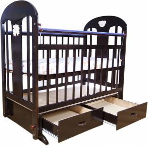 Кровать-качалка  5, цвет: темный Briciola