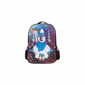 Рюкзак Самолет, цвет черный с синим 3D Bags