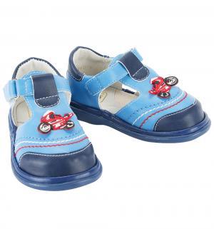 Туфли , цвет: голубой/синий Топ-топ