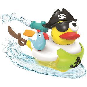 Водная игрушка  Утка-пират, с водометом и аксессуарами Yookidoo