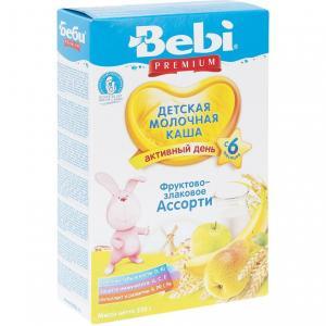Каша  молочная злаковая с 6 месяцев 250 г Bebi