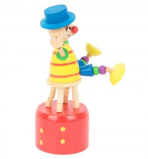 Деревянная игрушка  Клоун на стуле Мир Деревянных Игрушек