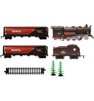Железная дорога  паровоз 1 : 64 Голубая Стрела