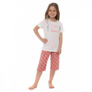 Комплект для девочки AR-105 (футболка, бриджи) Arnetta