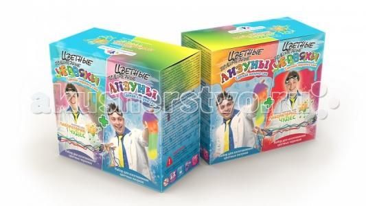 Набор Юный химик. Цветные червяки и лизуны Инновации для детей