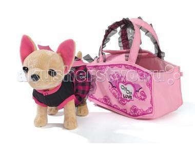 Мягкая игрушка  собачка Чихуахуа Вампирчик Chi-Chi Love