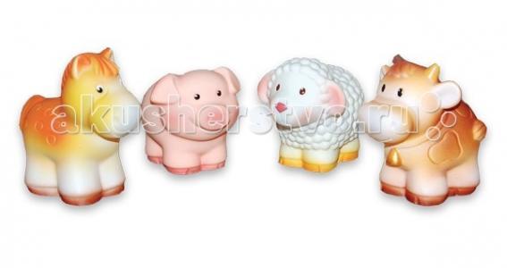 Набор игрушек для купания Домашние животные Огонек