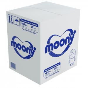 Megabox Подгузники NB (0-5 кг) 90 шт. + S (4-8) 81 Moony