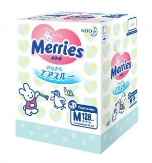 Подгузники  M (6-11 кг) 128 шт. Merries