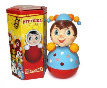 Развивающая игрушка  Неваляшка Скоморох 41 см Russia