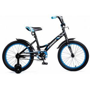 Двухколесный велосипед  Bingo, 18 дюймов, синий Navigator. Цвет: разноцветный