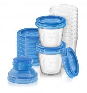 Набор Avent SCF618/10 с крышкой для хранения грудного молока Philips