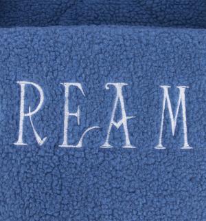 Лежанка для кошек  Dreamy из овчины, цвет: синий, 50*38см I.P.T.S.