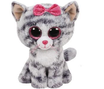 Мягкая игрушка  Кики кошка 15 см TY