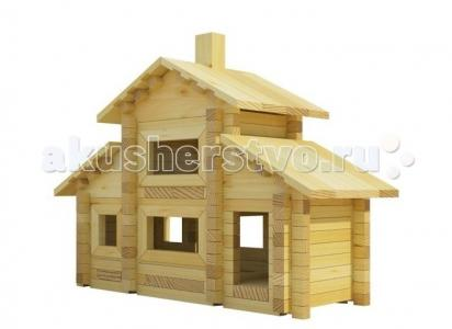 Конструктор  Разборный домик №5 (280 деталей) Лесовичок