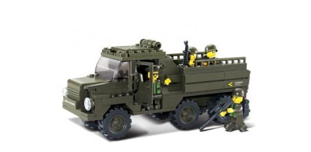Конструктор  Армия (230 деталей) Sluban