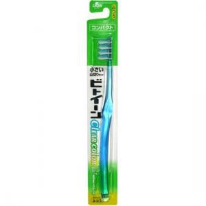 Зубная щетка  Between с прозрачной ручкой, от 12 лет, цвет: зеленый Lion