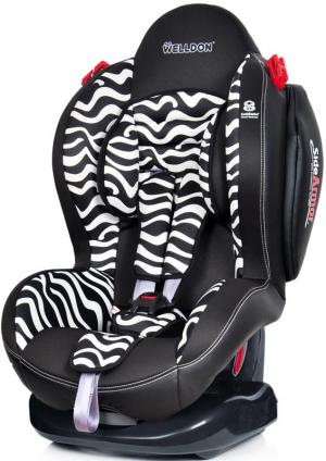 Автокресло  Smart Sport SideArmor & CuddleMe, цвет: zebra Welldon