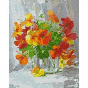 Картина по номерам на подрамнике Оранжевое чудо 50х40 см Color Kit