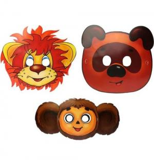 Набор картонных масок  Союзмультфильм Веселый праздник