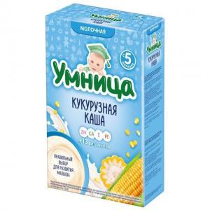 Каша  молочная Кукурузная с 5 месяцев 200 г Умница