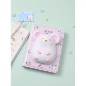 Блокнот со сквишем Мышка I Like Mouse А5 Mihi