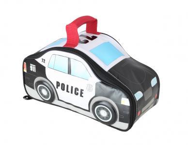 Сумка-термос  для питания Police Car Novelty детская, цвет: черный/белый Thermos
