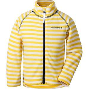 Демисезонная куртка Didriksons Monte Print. Цвет: желтый