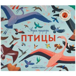 Музыкальная книга  Птицы 5+ Мозаика-Синтез