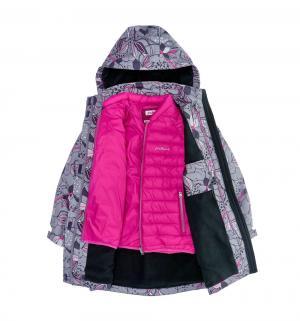Куртка  Лилия Флер-де-Лис, цвет: серый Premont