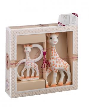 Набор из 2-х игрушек Жирафик Софи Sophie la girafe