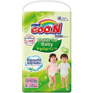 Подгузники-трусики  Cheerful Baby L 8-14 кг. 48 штук Goon