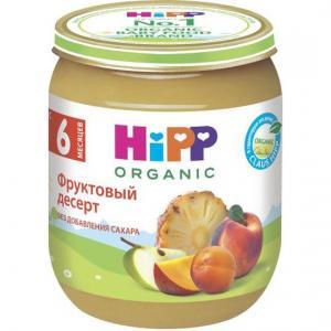 Пюре  фруктовый десерт с 6 месяцев, 125 г Hipp