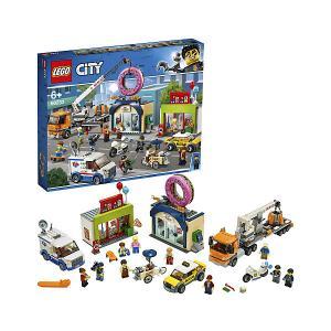 Конструктор  City Town 60233: Открытие магазина по продаже пончиков LEGO