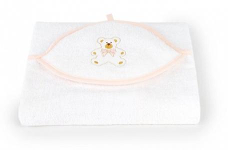 Полотенце с капюшоном Мишка Премиум 75х100 см Золотой Гусь