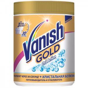 Gold Oxi Action Кристальная белизна. Отбеливатель для белых тканей 1 кг Vanish