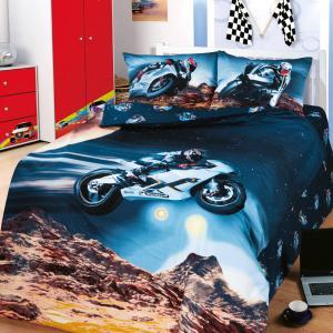 Комплект постельного белья  Париж-Даккар, цвет: черный Артпостель
