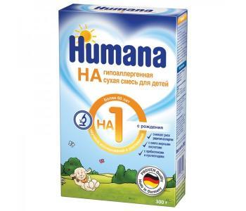 Заменитель ГА 1 с рождения 300 г Humana