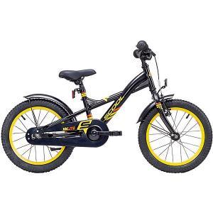 Двухколесный велосипед  XXlite 16 Scool. Цвет: черный