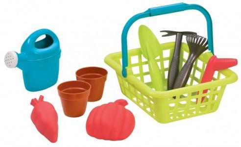 Детская садовая корзина с аксессуарами Ecoiffier