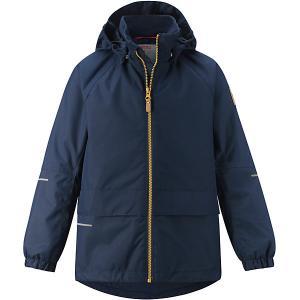 Куртка Aho  для мальчика Reima. Цвет: pink/gelb