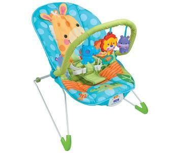 Кресло-качалка с игрушками и вибрацией Animal Paradise 8611 FitchBaby