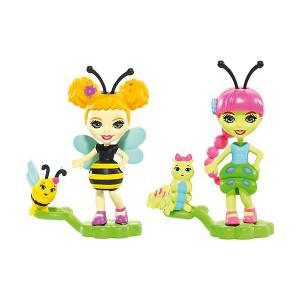 Игровой набор Enchantimals Парк лепестков Кей Гусеница и Беатрис Пчёлка Mattel