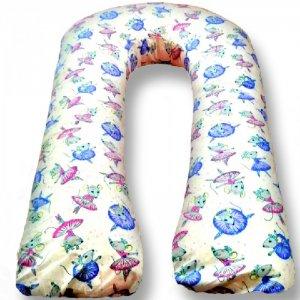 Подушка для беременных U Мышки (поплин) 340х35 БиоСон
