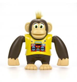 Интерактивная игрушка  Ycoo nFriends Обезьяна Чимпи, цвет: желтый 15 см Silverlit